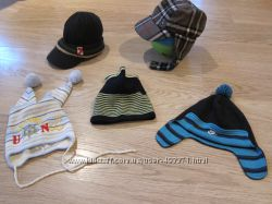 Осенние шапки на мальчика 1-2 года