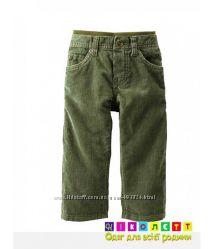 Брюки штаны на мальчика микровельвет CARTER&acuteS