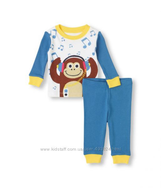 Пижама на мальчика CHILDRENS PLACE трикотажная р. 4Т