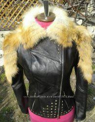 Куртка с мехом лисы уже в наличии