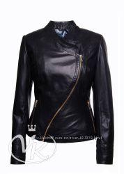 Мега красивая кожаная куртка в наличии 46 размер