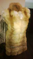 Жилет из меха лисы в наличии размер С