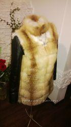 Куртка трансформер из меха лисы под заказ