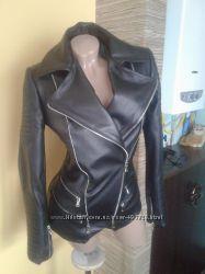 Очень стильная куртка из натуральной кожи в наличии