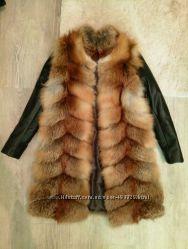Пошью под заказ трансформер из натурального меха лисы