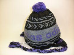 Женские шапки с помпоном , шапка берет Adidas в наличии