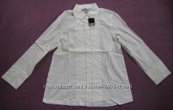 новая фирменная блузка рубашка супер качество размер M-L хлопок дешево