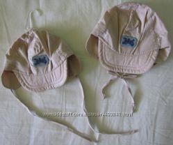 новые качественные кепки панамки шапочки размер 39 и 43 хлопок мальчику