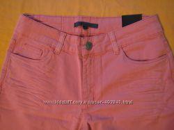 новые стильные укороченные брюки джинсы хлопок 38 40 евр размер импортные