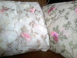 Декоративние наволочки для подушечекЛен с вышивкой