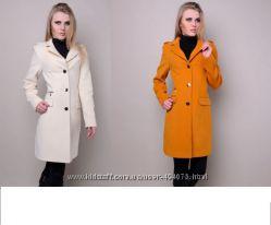 Кашемировое пальто черное р. 52 в наличии