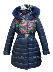 Зимнее пальто-пуховик ТМ Deffchonki