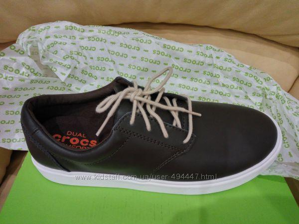 Crocs кожа 9