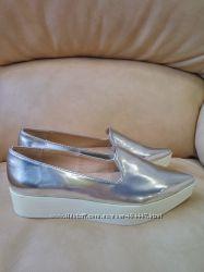 Снизила цену Zara туфли лоферы , одеты один раз