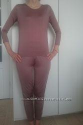 Шелковая трикотажная пижама