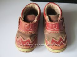 Шкіряні черевички на дівчинку 20р. Lapsi Фінляндія