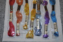Продам нитки для вышивания, мулине ДМС DMC металлик оригинал