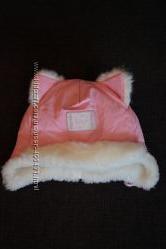 Классная зимняя шапочка для девочки Davids star