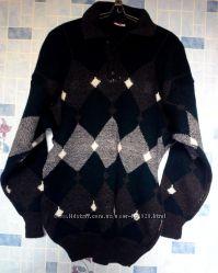 теплый мужской свитер, размер 48-50