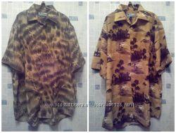 мужская рубашка, большой размер