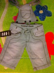 Комбинезон джинсовый. Новый