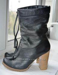 Ботинки кожаные деми днепропетровская обувь