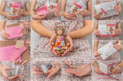 Набор для шитья из натурального фетра Мишка