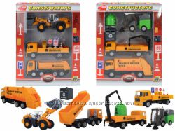 Dickie набор Сервисная техника, 3 машины с акс. 3315393