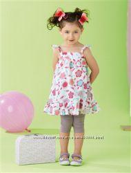 Vertbaudet платье и леггинсы , рост 92-102 см, 3-4 года