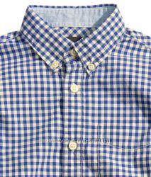 H&M рубашки мальчикам 92-128 рр