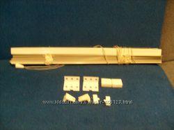 Жалюзи алминиевые белые новые 125х48см 1 шт.