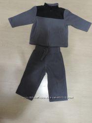 Флисовый спортивный костюм crazy8 р-р 18-24 мес