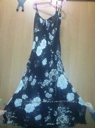 БУ шифоновое платье р-р 40-й Zabaione