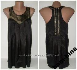 Блуза NEW LOOK паетки и бисер 44р