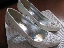 Свадебные туфельки 37размер