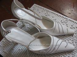 Свадебные туфельки 35размер