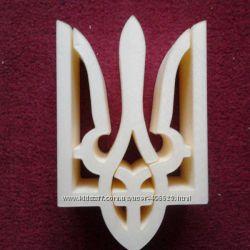 Герб України, пінопласт, пвх, фанeра, вироби ручноі роботи, hand made