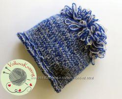 Меланжевая шапка