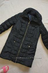 Теплая куртка пальто в стиле бойфренд