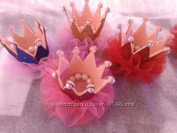 Заколка - корона для ваших принцесс