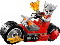 Лего Чима Огненный мотоцикл Ворриза 30265 Lego Chima Worriz Fire Bike