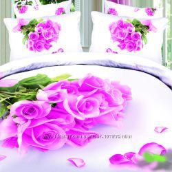 Постельное белье Love You - коллекция с цветами.
