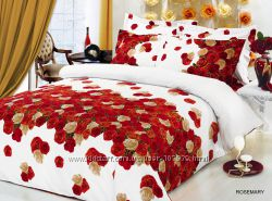 Распродажа постельного белья 3д Arya, в наличии полуторные комплекты.