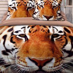 Постельное белье 3D Love You - самая лучшая коллекция с животными. Качество