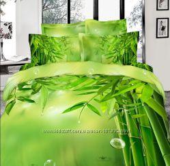 Очень красивое постельное белье Love You из сатина