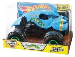 Машина монстр большая Hot Wheels Monster Jam Crushstation Vehicle