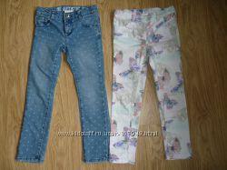 Продам 2 пары джинс в идеальном состоянии на 6 лет