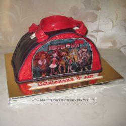Торты для девочек на заказ