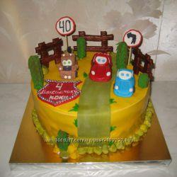 Тортики для мальчиков 2