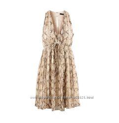 Летнее платье, цвет питон